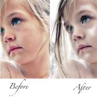 Before And After Little Angel by Shann2j