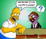Homer meets Herbert by mightyfilm