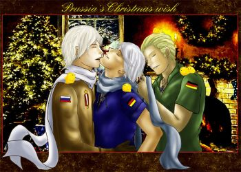 Prussia Christmas wish by terraharpel1