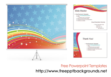 Abstract Powerpoint Templates by ppttemplates