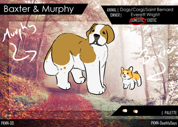 Baxter and Murphy by Moro456