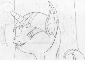 Twilight bat Sketch by TommyWat