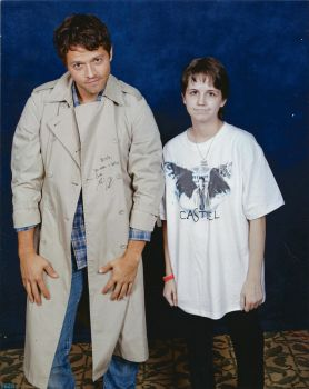 Castiel and Me Photo Op by SherlyWats