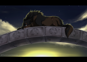 .::It's morning again::. by ThousandLeaves