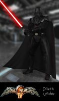 Soul Calibur IV: Darth Vader by xCrofty
