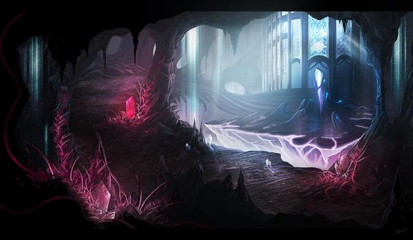 Caves by AlynSpiller