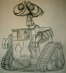 Quick Sketch: WALL-E by InkArtWriter