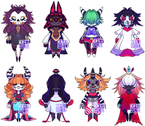 [OPEN] PRICE REDUCED Halloween 2018 Adopts [S1] by MonsterRadio