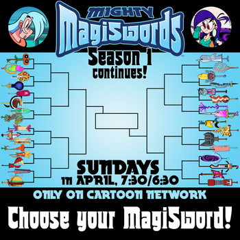 Mighty MagiSword Bracket Promo - April 2018 by artbylukeski