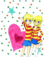 with my other self- Lucas by LaKitten