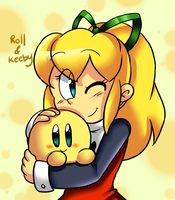 Roll and Keeby by Crashkirby888