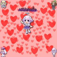 Planeptune Valentines card by TayAyase