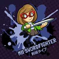 SMASH 150 - 129 - MII SWORDFIGHTER by professorfandango