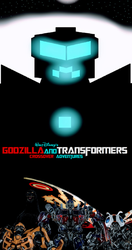 Godzilla and Transformers: Heroes and ULTRA-Titan by NestieBot