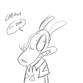 Toon June Day 9: Rocko by bakertoons