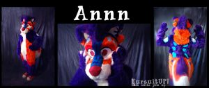 Annn fursuit by Grion