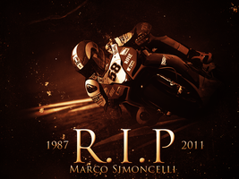 Marco Simoncelli by ChrisHolley