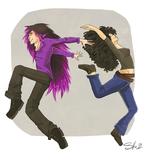 Dancing Badasses by TheSylverLining