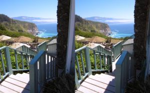 Stereograph - Coast View Diner by alanbecker