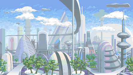 City Background by Trick17