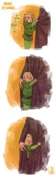 LOTR - Scared by the-evil-legacy