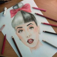 Portrait Of Melanie Martinez by UchihaAkanee