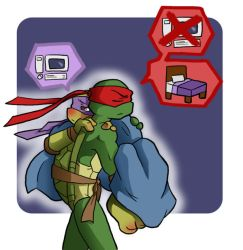 TMNT: Sick by NamiAngel