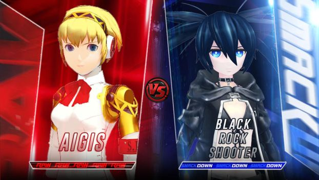 Aigis vs BRS for 5 times by vayne90