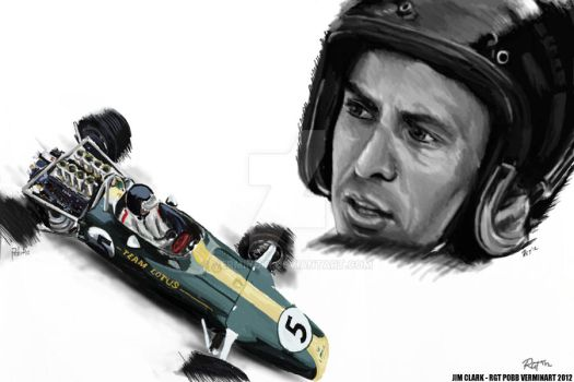 JIM CLARK by VerminGTi