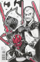 You Don't Know SITH! Back (Star Wars #1) 02-15-16 by ManiacMcGee01