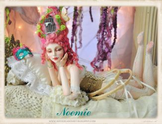 NOEMIE Rococo BJD doll by Sutherland by SutherlandArt