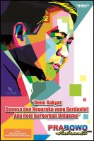 prabowo subianto WPAP by opparudy