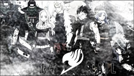 Fairy Tail Team B Wallpaper by kimuel2414