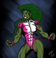 She-Hulk Quicky by Lpsalsaman