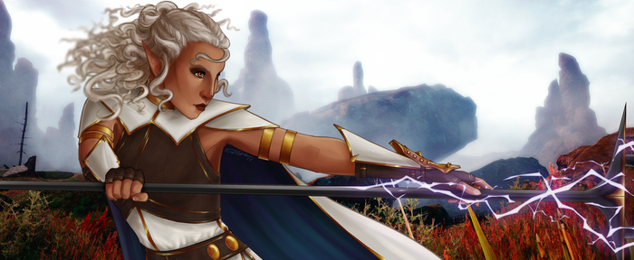Lady of Shadows - Banner by Thursday-Rose