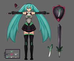 Miku_Design by manashiku