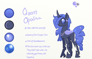 Queen Opalina reference by amberflicker