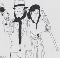 JIGEN and GOEMON by Arak-8