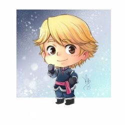 Chibi Kristoff Frozen by lince