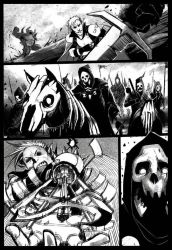 Elf vs undead #2 by Nathan123qwe