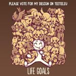 Please vote for my design on TeeTee.eu by SarahRichford