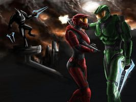 HALO The last Spartans request by jose144
