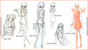 Savannah's Winx Progress by MaeWings
