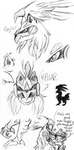 Silvally sketchdump by Franken-Fish