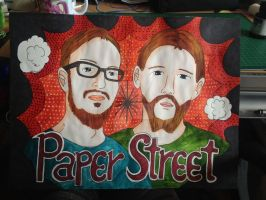 Paperstreet by PanHaukatze
