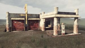 UDK Gas Station 02 by CCrumpler