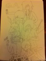 Gorillaz Army :D by TheJester5T33LC00K13