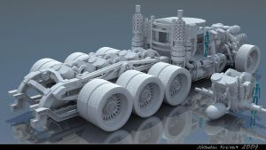 Steam Truck WIP 2 by chiaroscuro