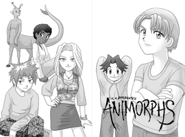 Animorphs Manga Splash by alamedyang