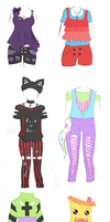 Cheap Outfit Adopt Auction 2 *CLOSED* by Mishaila